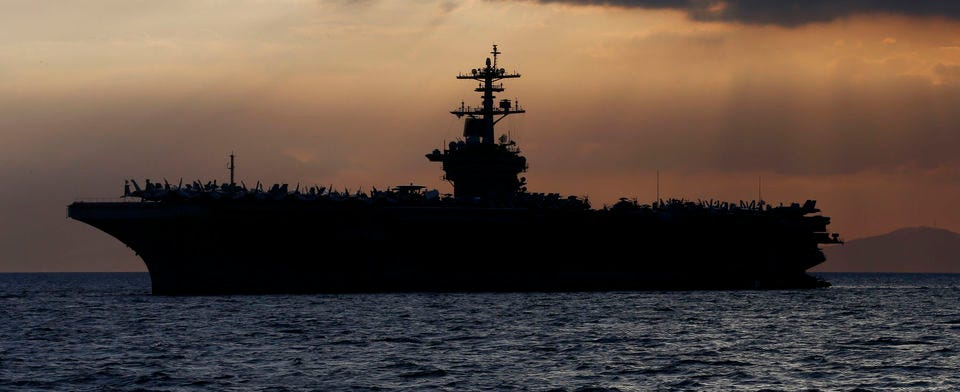 Do you agree with the ouster of the USS Roosevelt's captain?