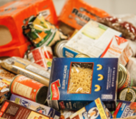Have you given or received any food donations recently?