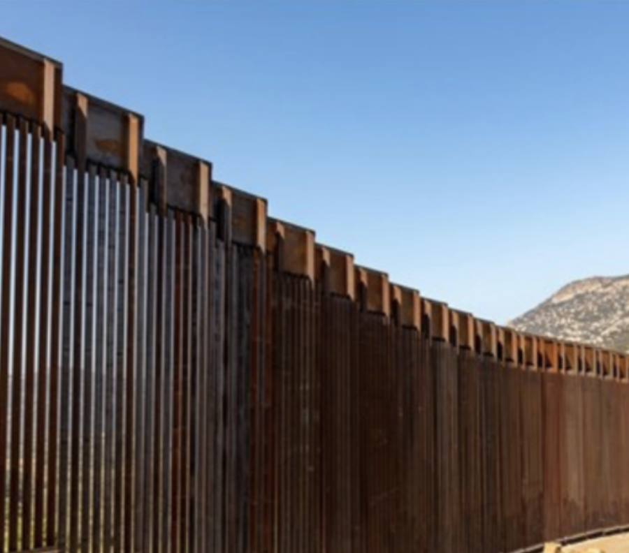 Should construction on the border pause right now?