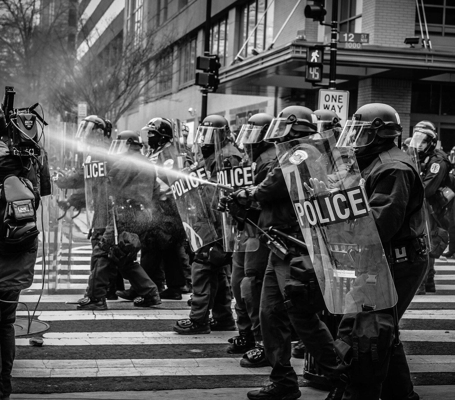 Do the police need to be demilitarized?