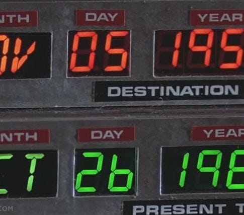 If you had a time machine, would you visit the past or future?