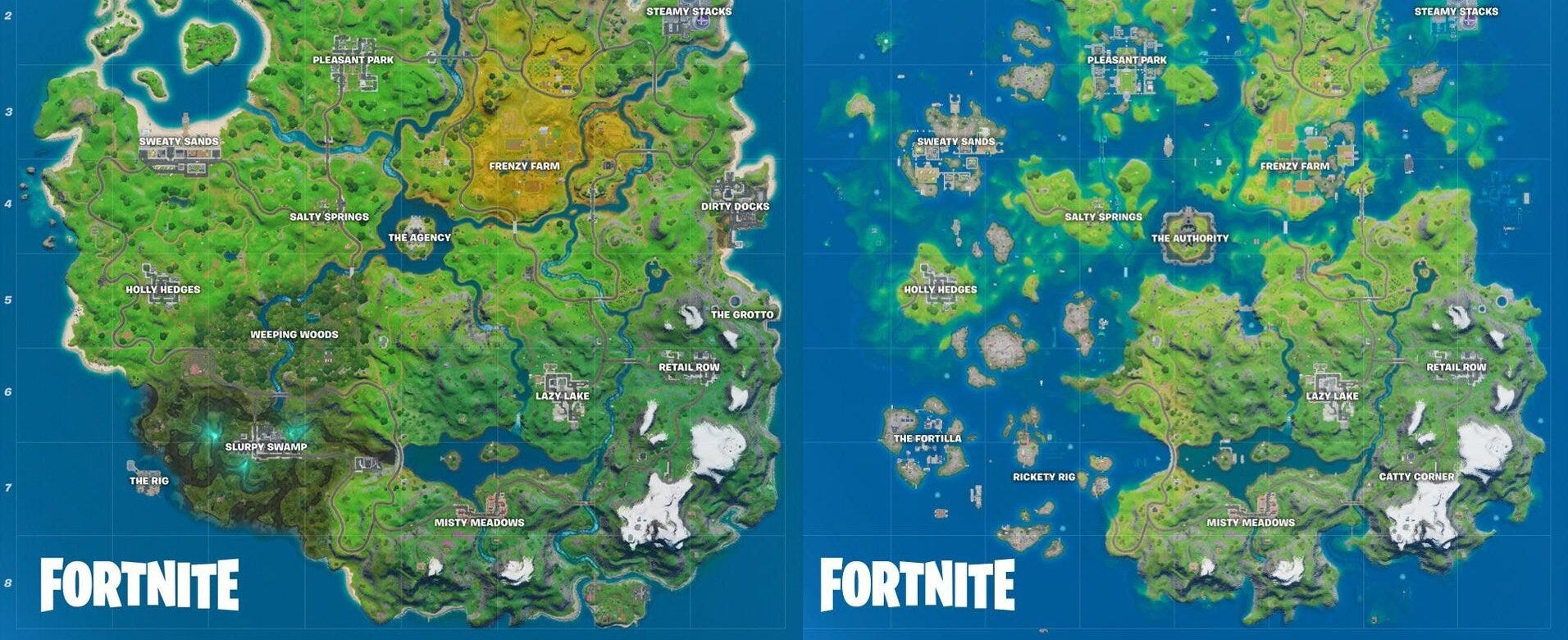 What do you think of the new Fortnite maps?