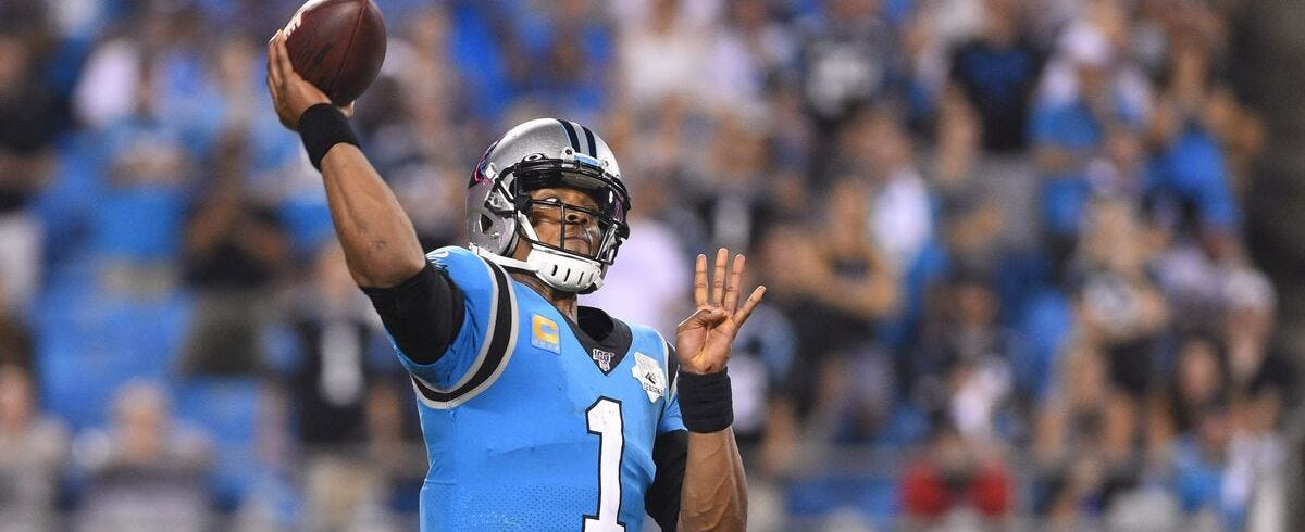 Patriots Sign QB Cam Newton to 1-Year Deal