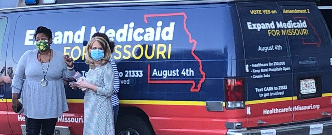 Do you support Medicaid expansion on the August ballot?