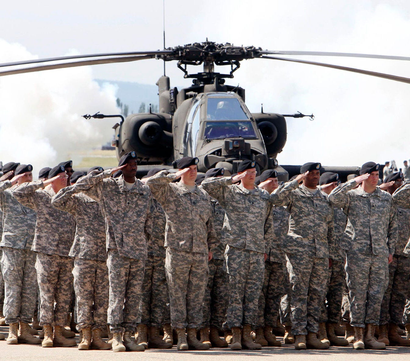 Is it a good idea to redeploy U.S. troops from Germany?