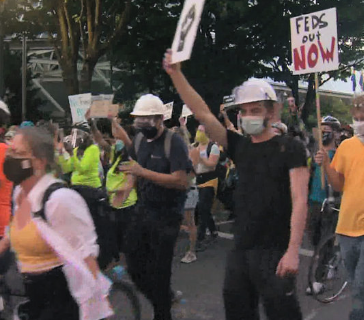 Do you think the Portland protests should end?