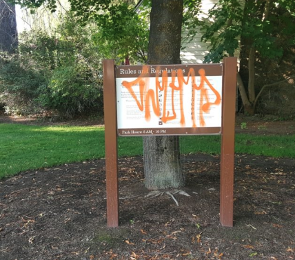 Have you seen an increase of graffiti around Bend?