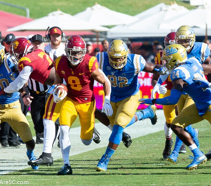 When should the USC - UCLA game take place?
