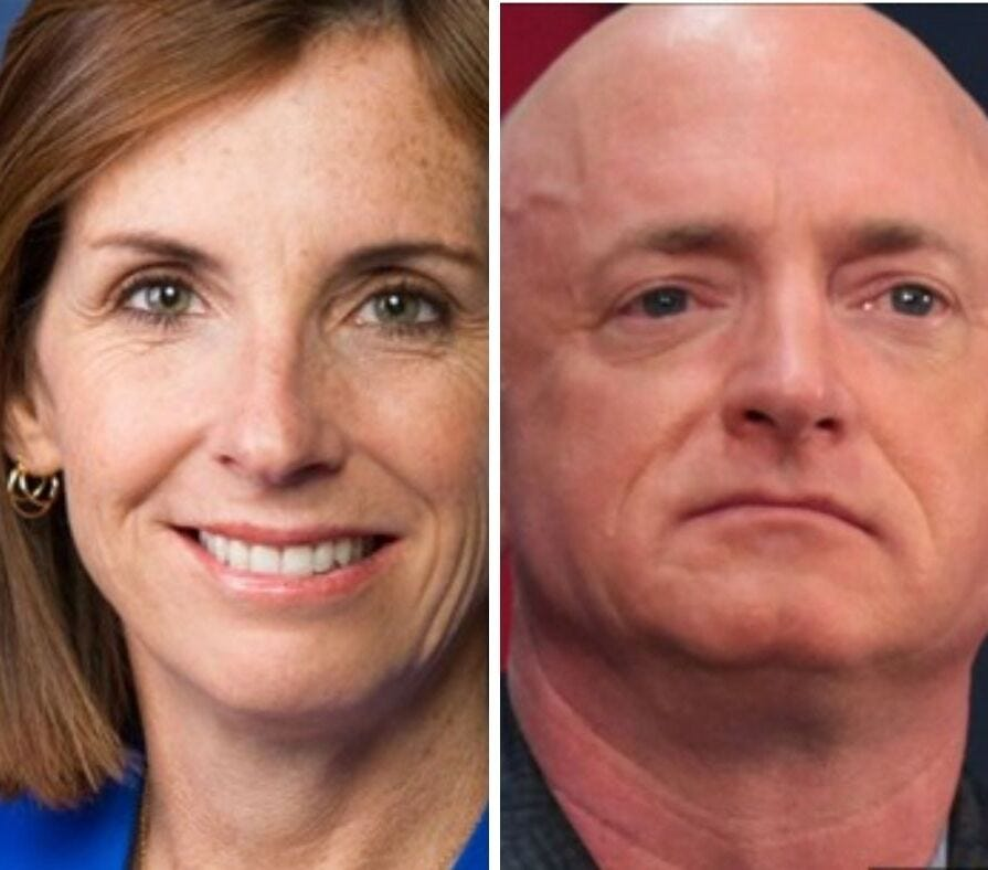 Will you vote for Martha McSally or Mark Kelly?