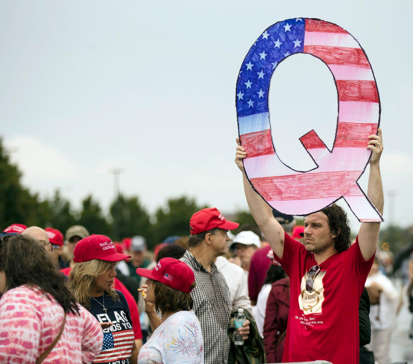 How would you describe QAnon?