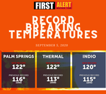 Did you leave the Valley to avoid the heat this weekend?