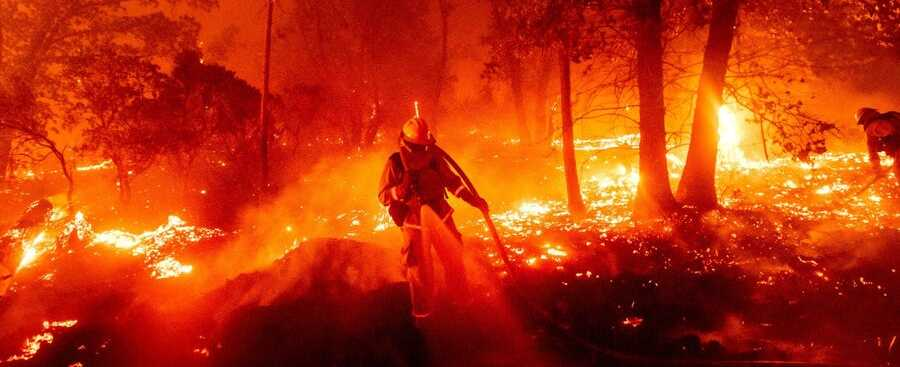Would you live in California even with the constant forest fires?