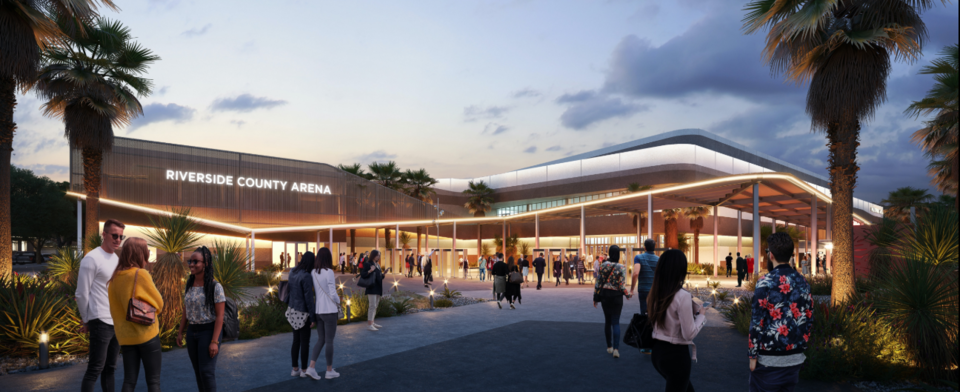 Do you prefer the arena to be built North of Palm Desert?
