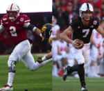 Who will be the Husker starting quarterback in the last game?