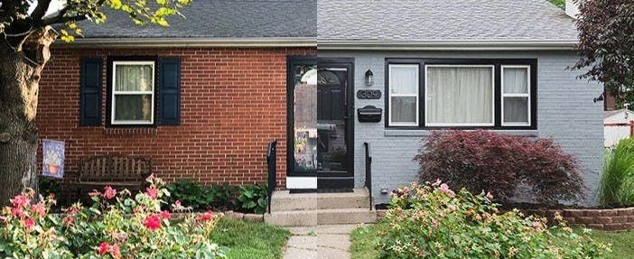 Should you paint brick, or leave it alone?