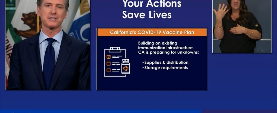Are you in favor of CA's COVID-19 vaccine plan?
