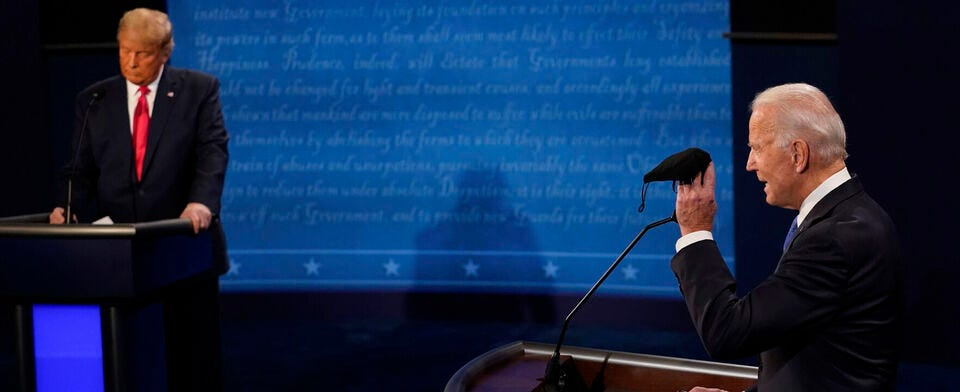 Did the presidential debates make any difference to you?