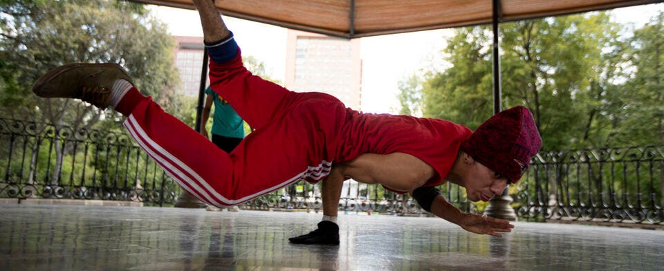 Does breakdancing sound like an Olympic sport?