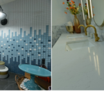 Would you ever try an ombre backsplash or would you keep it traditional and all one color?