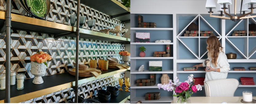 A huge trend right now is open shelving! What style do you gravitate towards?