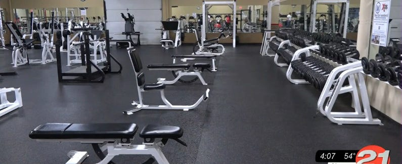Would you feel comfortable going to a gym, if it was open?