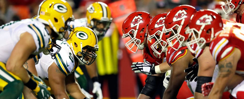 Green Bay or Kansas City? Which one do you think will be headed to the Superbowl?