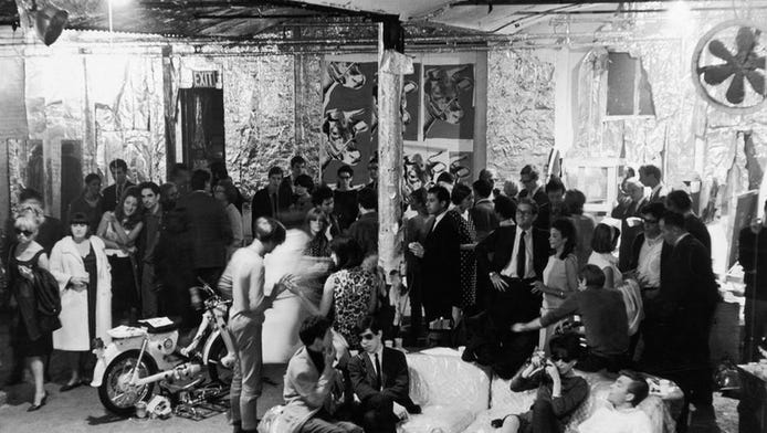 Would you like to go back in time to 1966 and hang out at Andy Warhol's Factory?