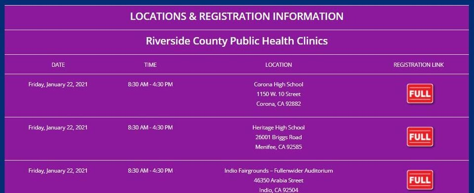 Did you have trouble trying to register for a vaccine appointment?