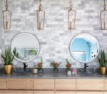 Would you use round mirrors in your home? I love them!