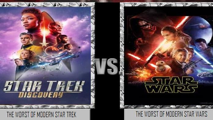 Star Trek vs Star Wars.  Which do you prefer?