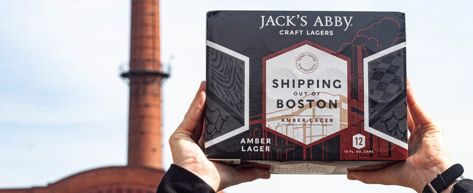 Have you tried our new Shipping out of Boston Amber Lager?