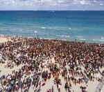 Should college students be able to gather in large crowds for spring break?