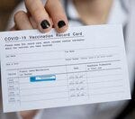 Have you shared a photo of your vaccine card on social media?