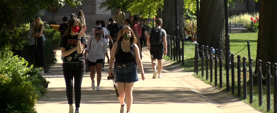 Should colleges and universities require students to get coronavirus shots?