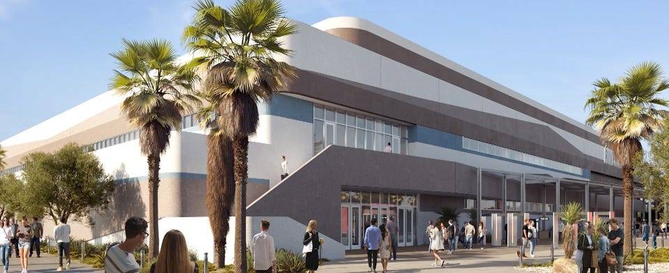 Do you have any concerns over the new Coachella Valley arena?