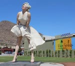 Are you in favor with the location where Forever Marilyn will be placed?