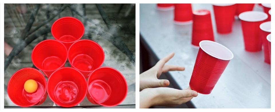 Beer Pong vs Flip Cup