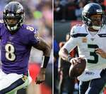 The Better QB: Lamar Jackson vs Russell Wilson