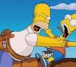 Do you personally relate more with Homer or Bart Simpson?