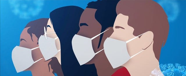 How do you feel about some businesses still requiring masks?