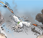 Which side to you sympathize with more in the Mideast conflict?