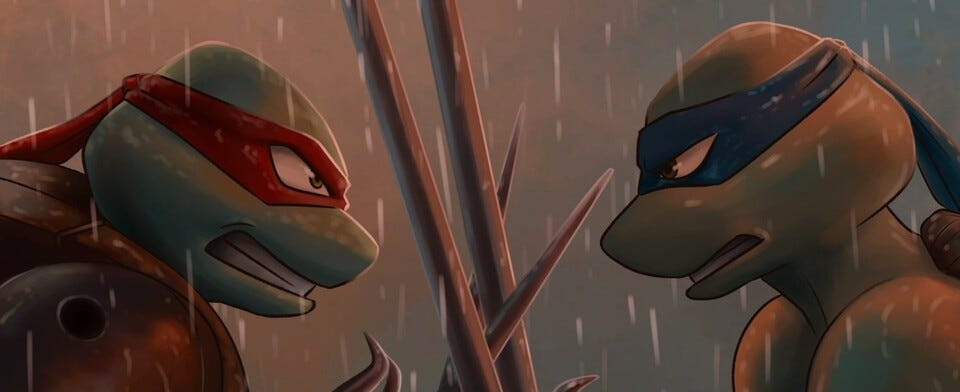Which of the sometimes rival Ninja Turtles do you personally identify with more?