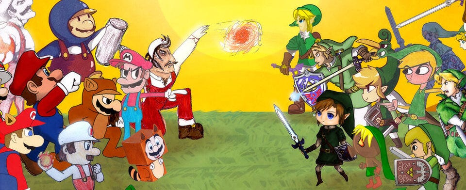 Which Nintendo hero do you like more? Mario or Link?