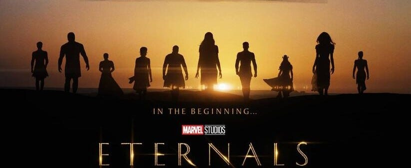 With the 1st trailer finally here, are you excited for Marvel's Eternals?