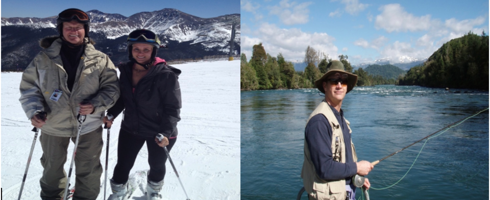 Would you rather go on a skiing or fishing trip?