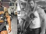 Black Adam starts filming as Thor Love & Thunder wraps, so who you got The Rock vs Chris Hemsworth?