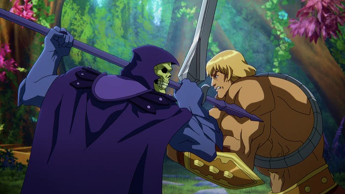 New Masters of the Universe Revelation trailer dropped today! Who you got?!