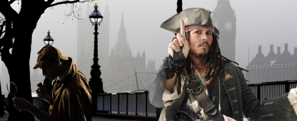Could Sherlock Holmes catch Captain Jack Sparrow?