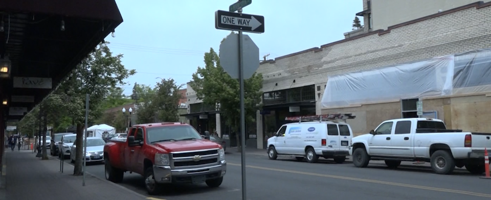 Which is more important for downtown Bend, a pedestrian promenade or something else?