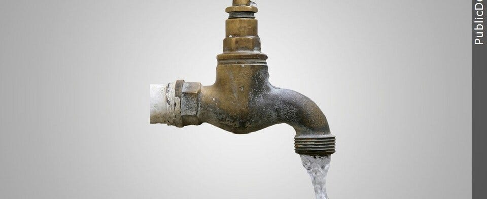 Have you had discolored tap water?